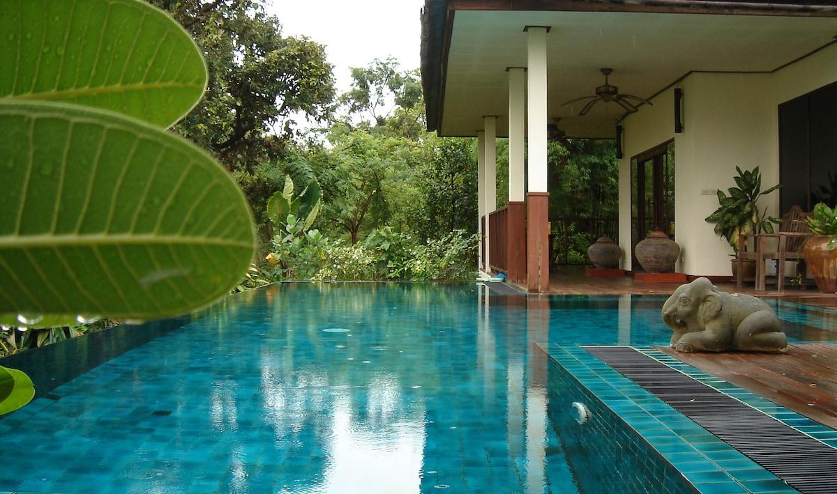 Gecko Villa, full board, pvt pool