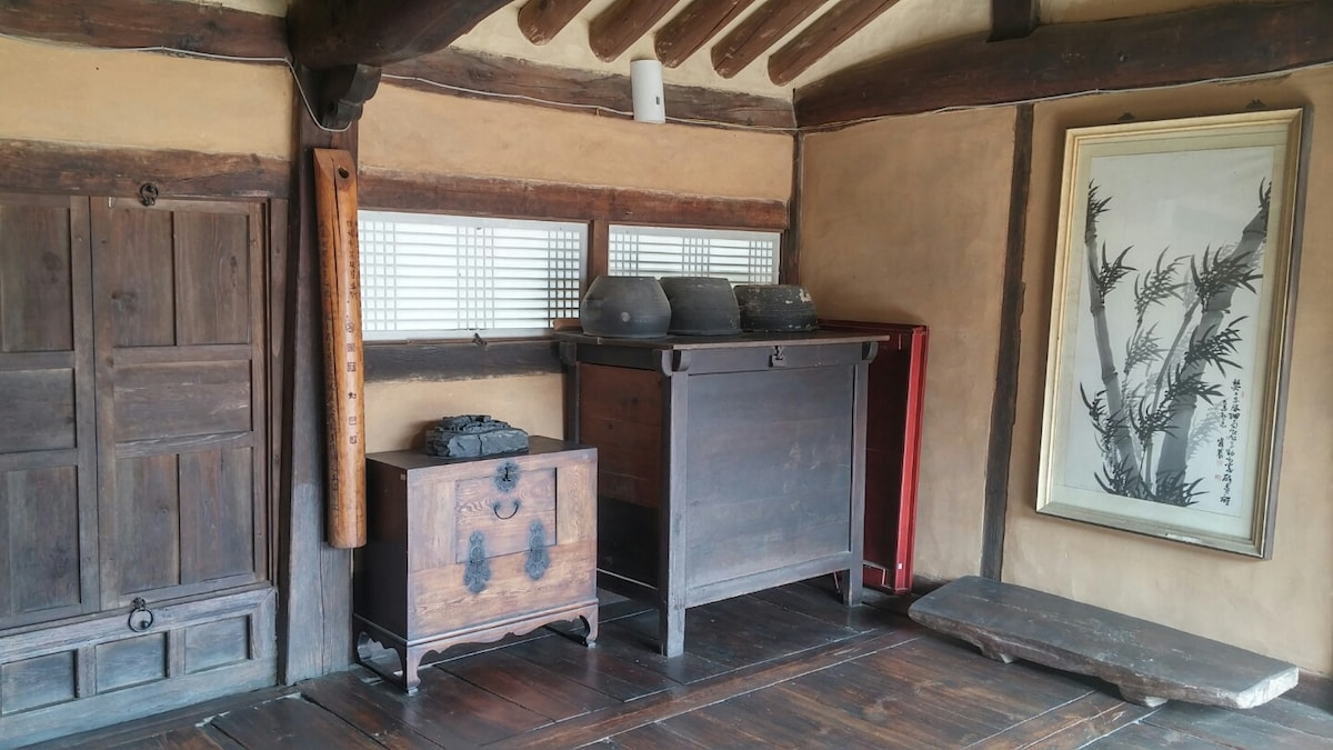 200년 된 고택 문화재에서의 소중한 하룻밤
