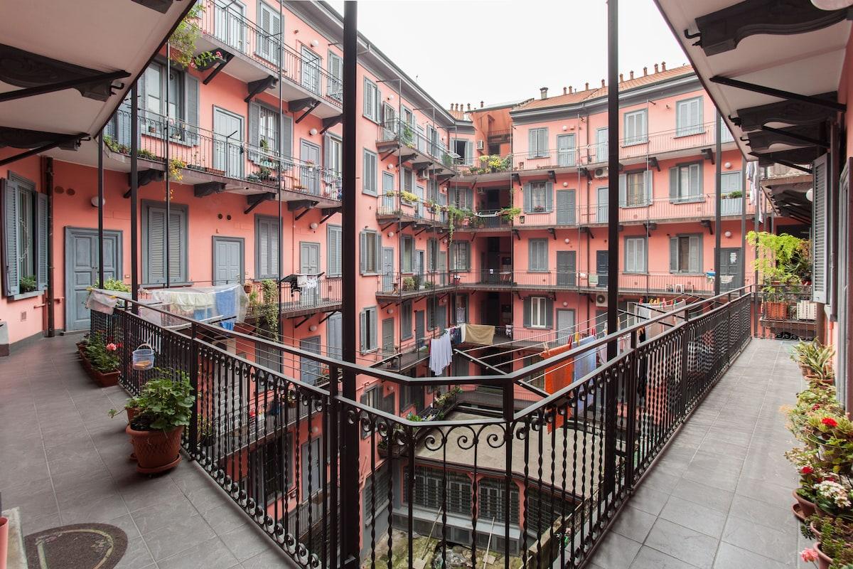 Beautiful flat in CENTER with 2BIKE