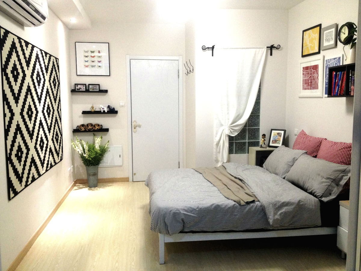 1bd lane apt with terrace in FFC