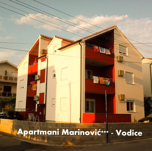 Vodice, apartments 4-6 persons