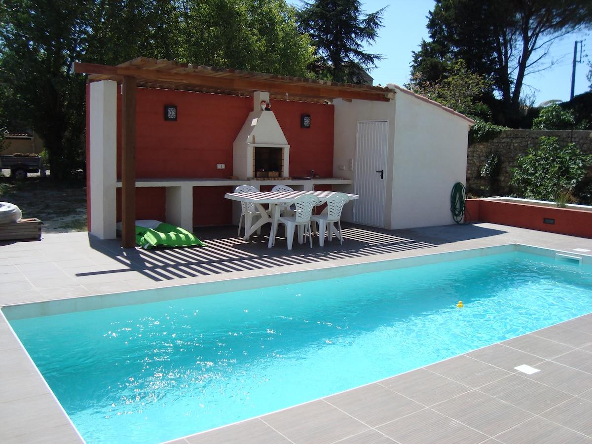 Villa 200 m² sud avec piscine