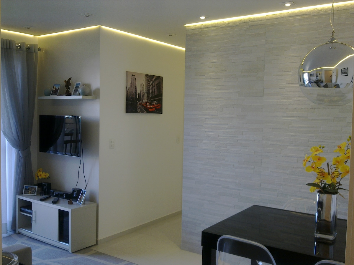 Modern apartment in Sao Paulo..