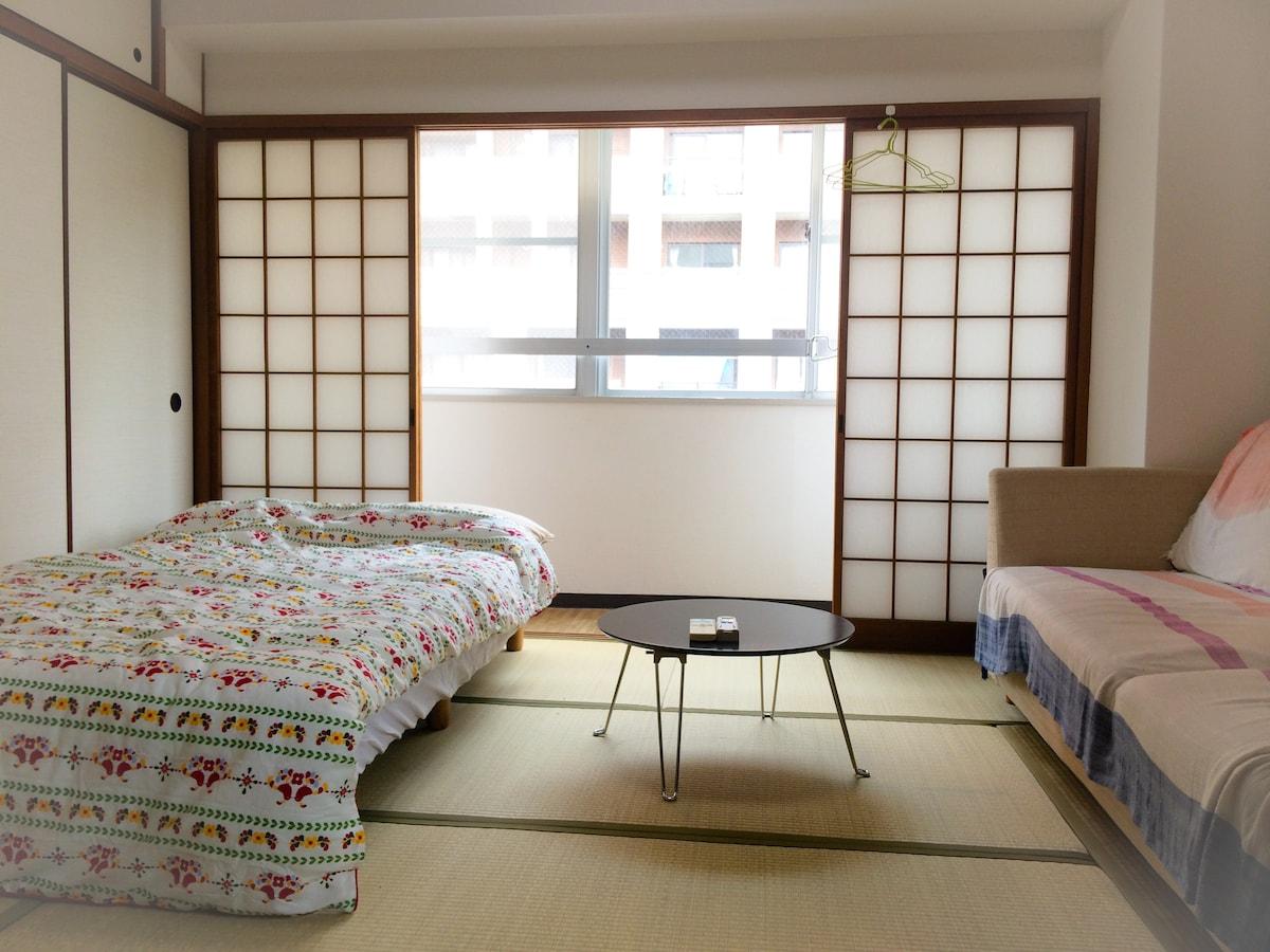 ★Central of fukuoka  tatami room ★