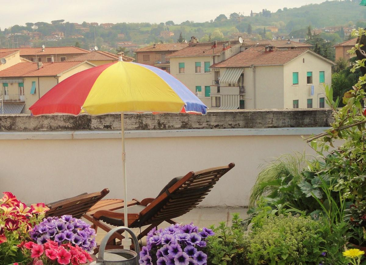 Your Room between Florence & Siena