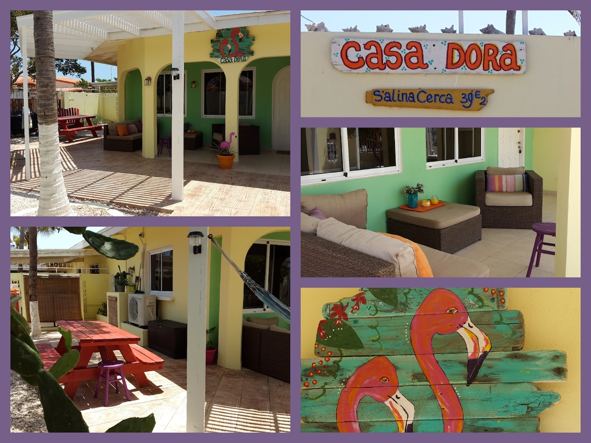 Casa Dora is perfect for an outdoor living experience. Garden, patio and terrace are sooo relaxing!