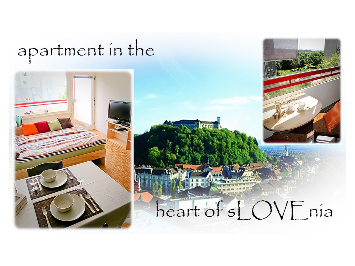 Apartment in the heart of sLOVEnia