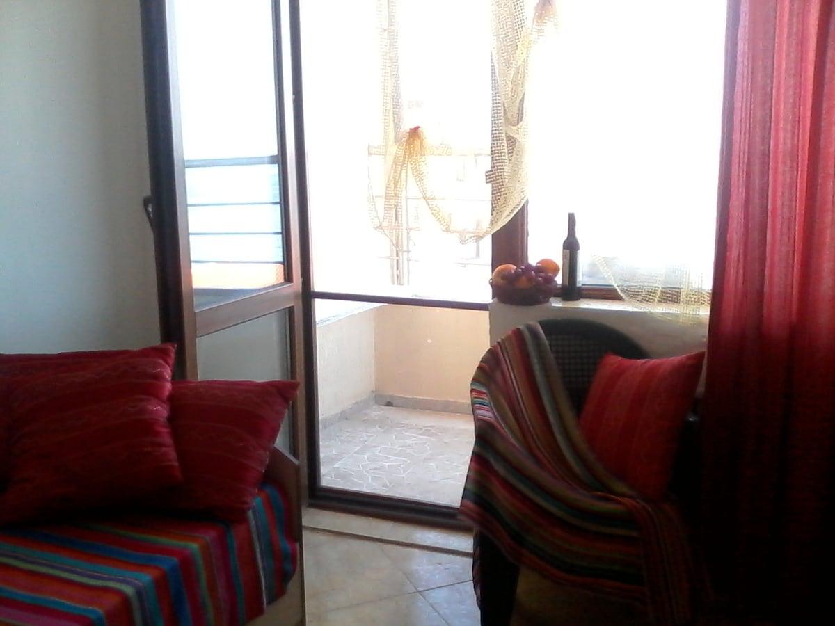 SOZOPOL studio 2+1, from beach 100m