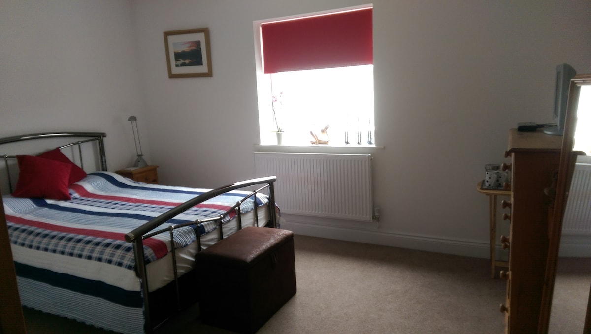 Spacious double room with parking