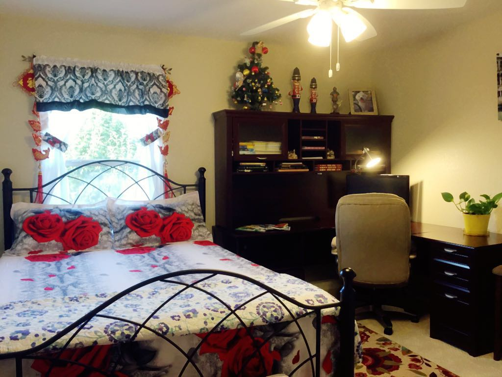 This is the second guest bedroom we are renting out. It is with nice office table for your use.
