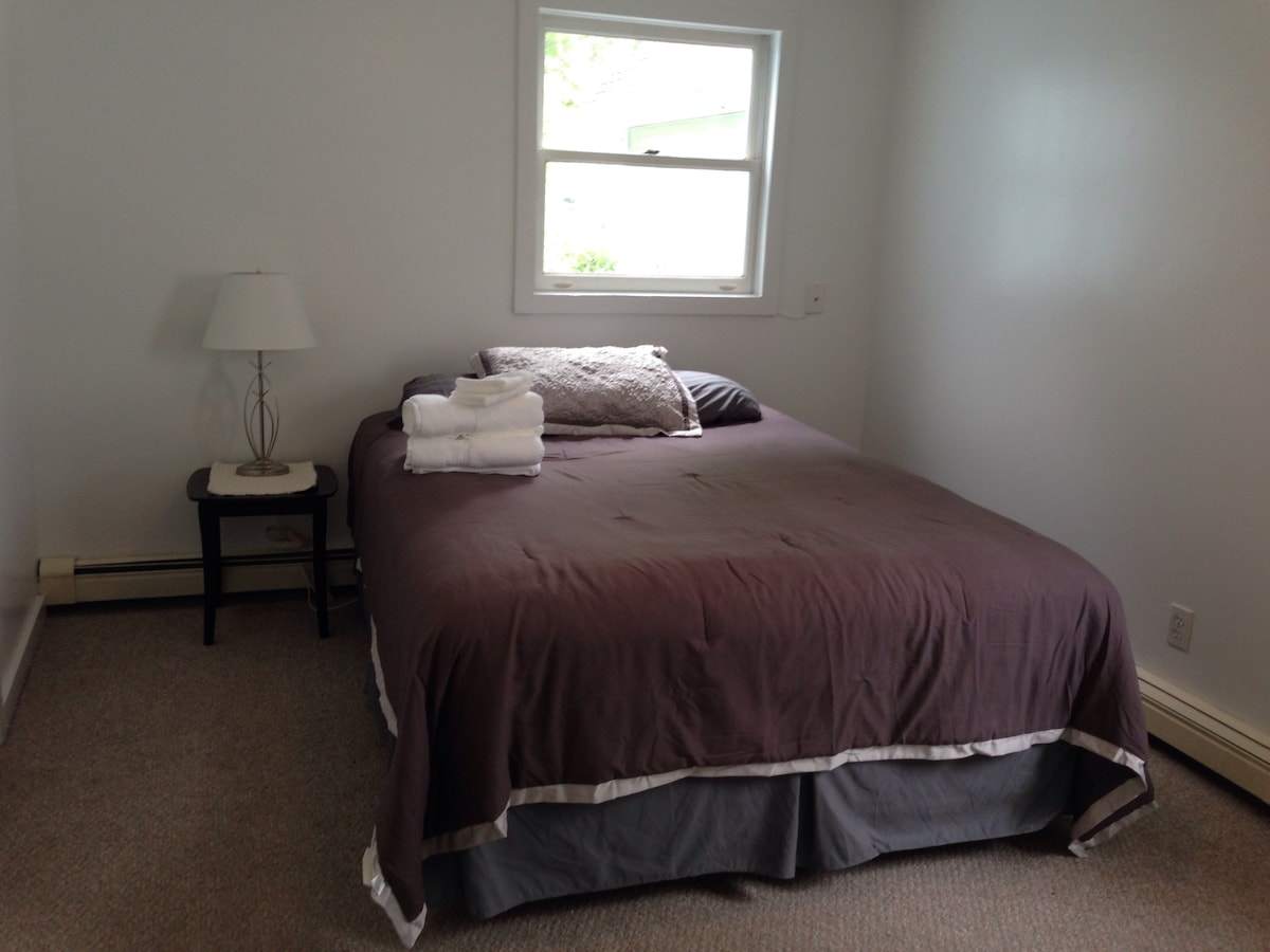 Private room available/shared bath