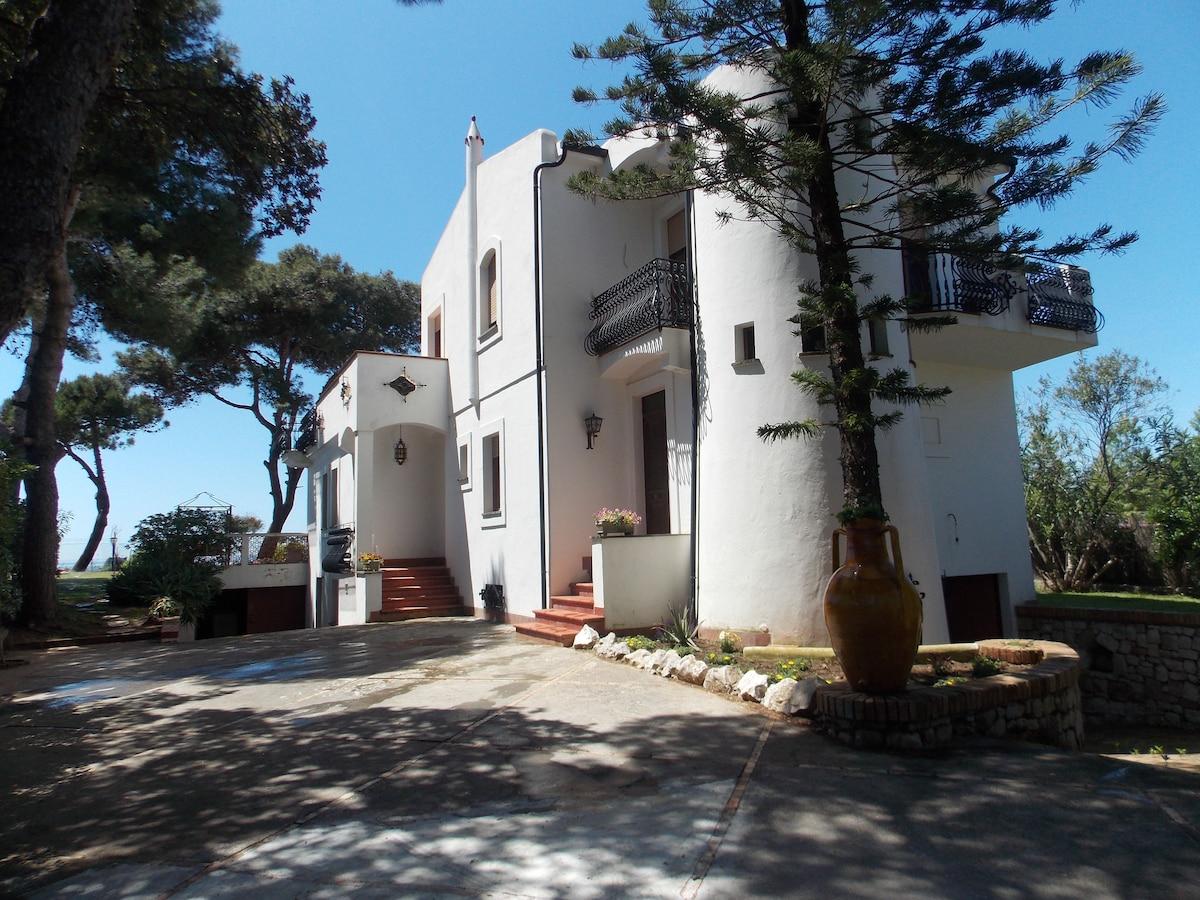 Villa Clara Sperlonga, sul mare.