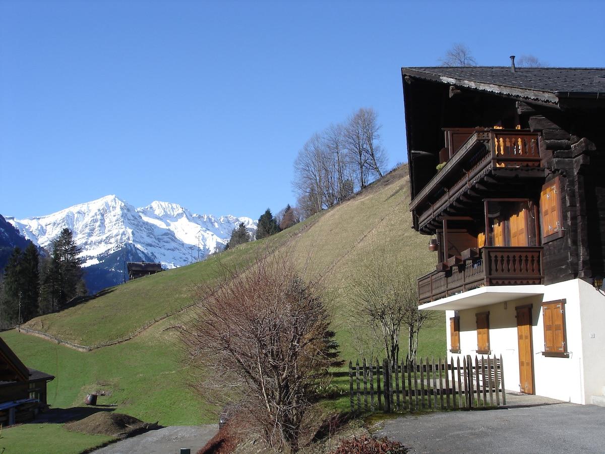 Studio indépendant à Val d'Illiez