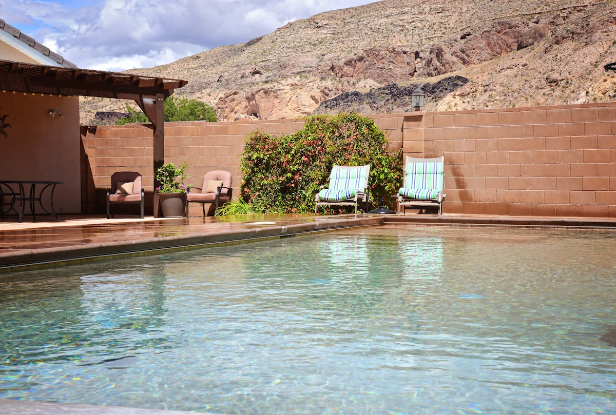 Private Casita with pool near Zions