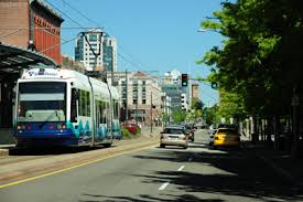Our home is less than a mile away from downtown Tacoma.
