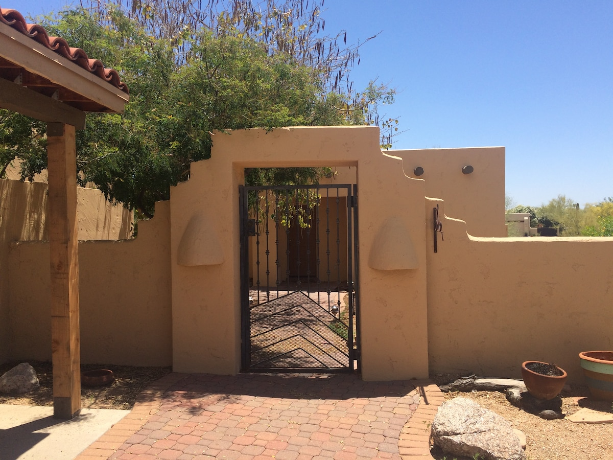 Private Casitas and fabulous pool!