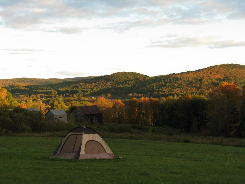 Magical Camping in Vermont