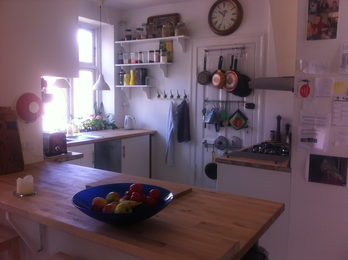 3 room apartment Cph city 4 persons