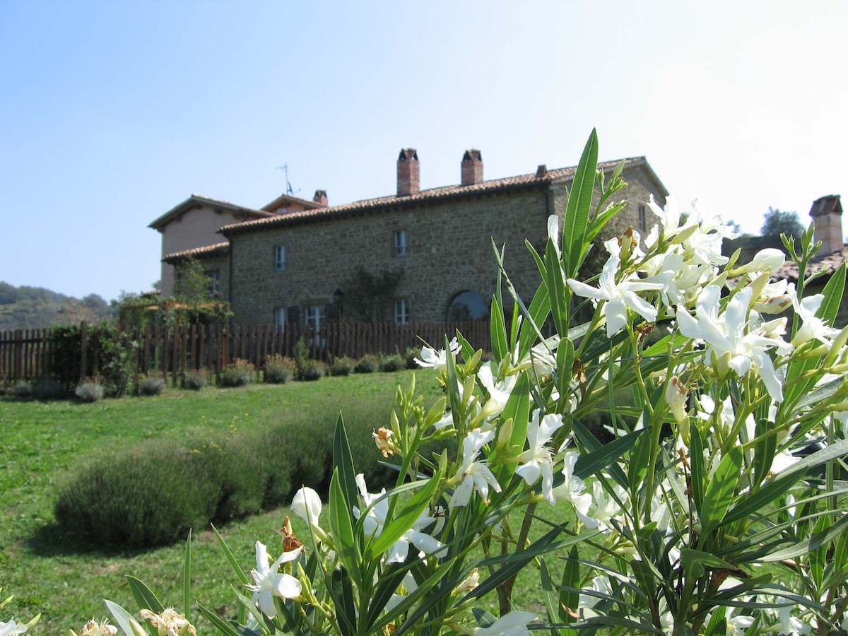 Farmhouse in the Umbrian Appennini