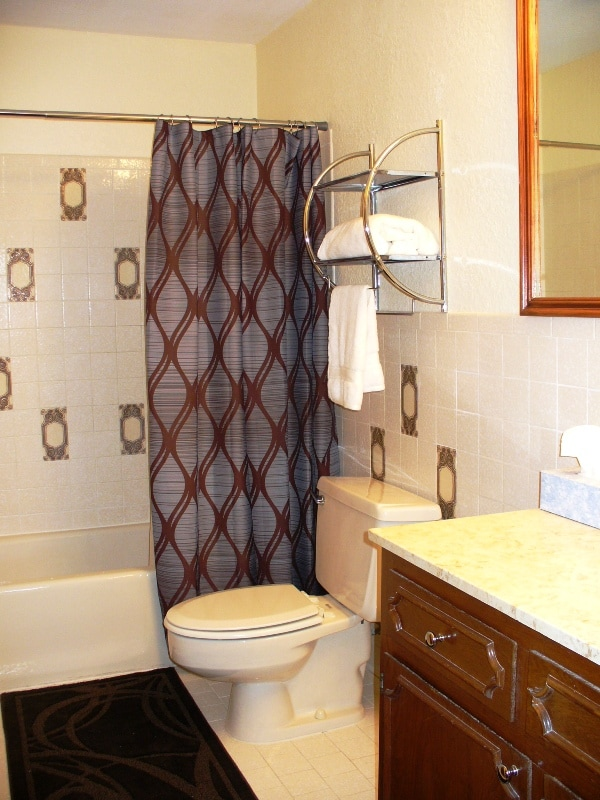 Each bedroom in the Grand Suite has its own bathroom