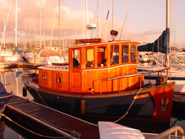 Romantic 100 Year Old Tugboat