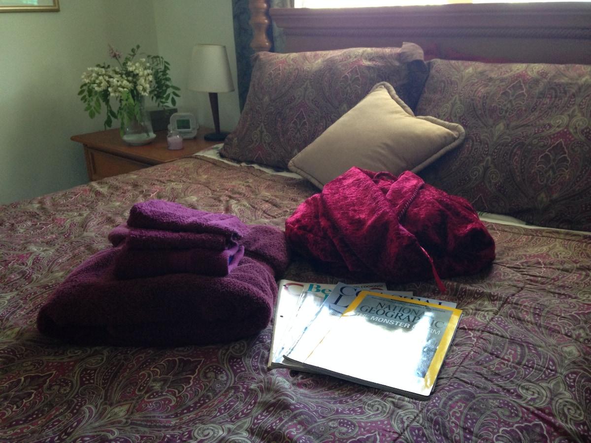 3 min to beach cozyroom quiet place
