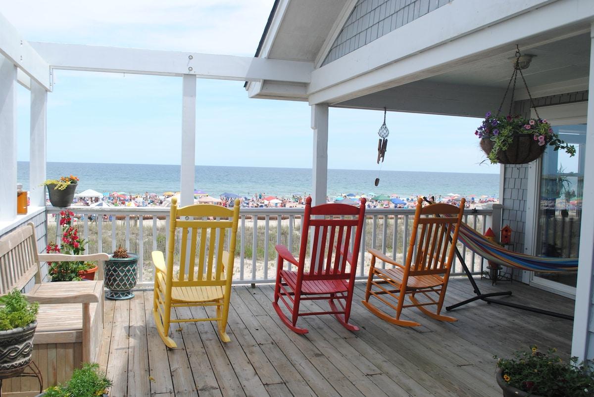 Oceanfront on Wrightsville Beach