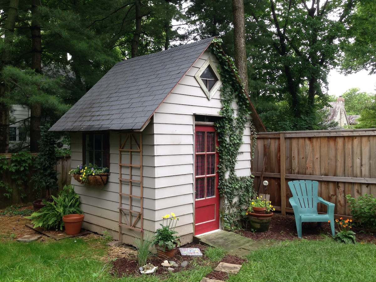 Tiny Shed writer/artists retreat