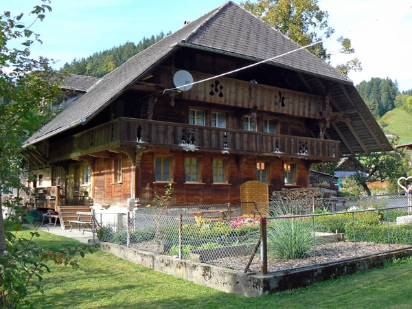 Farmhouse-Holidays in Switzerland