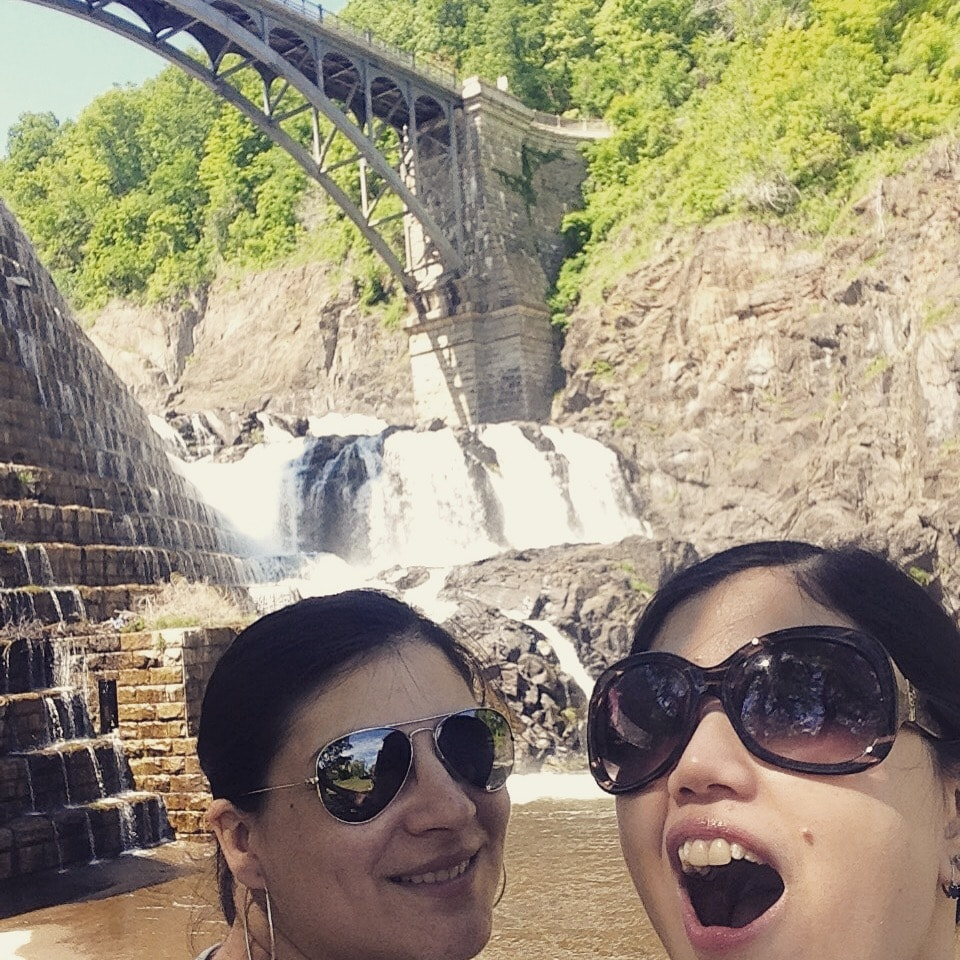 a selfie a beautiful day at the dam in late may for all to see