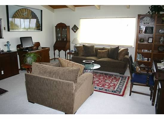 Living Room in the Guest House, television and wireless internet available
