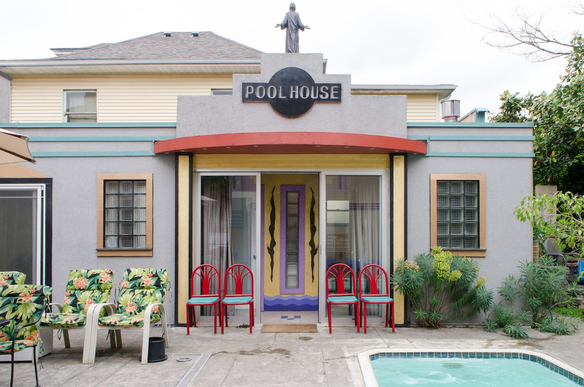 The Pool House at the Deco