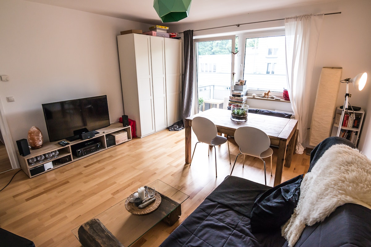 Cozy fully equiped flat at the Isar