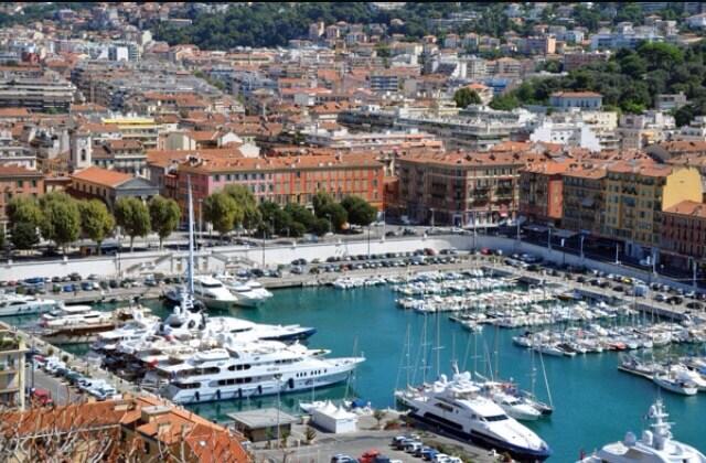 Chambre privee au port de Nice