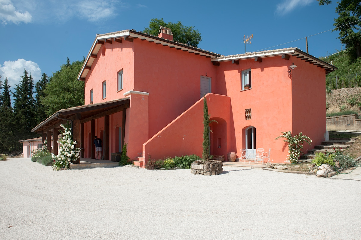 Villa with Private Pool near Rome