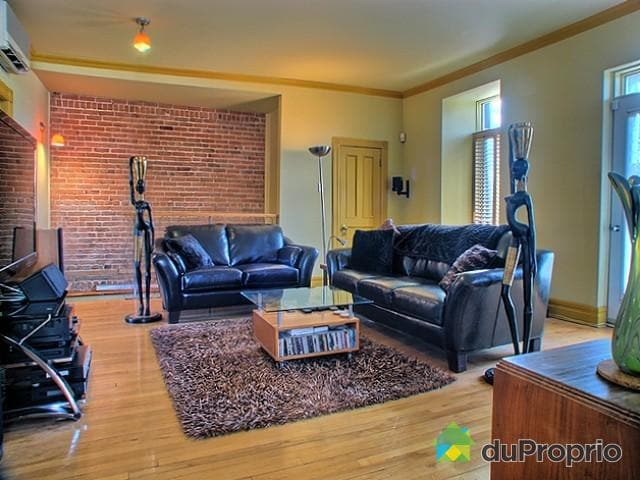 Large & spacious sunny living room, TV/DVD cable, wifi high speed internet, wooden floor & original brick wall