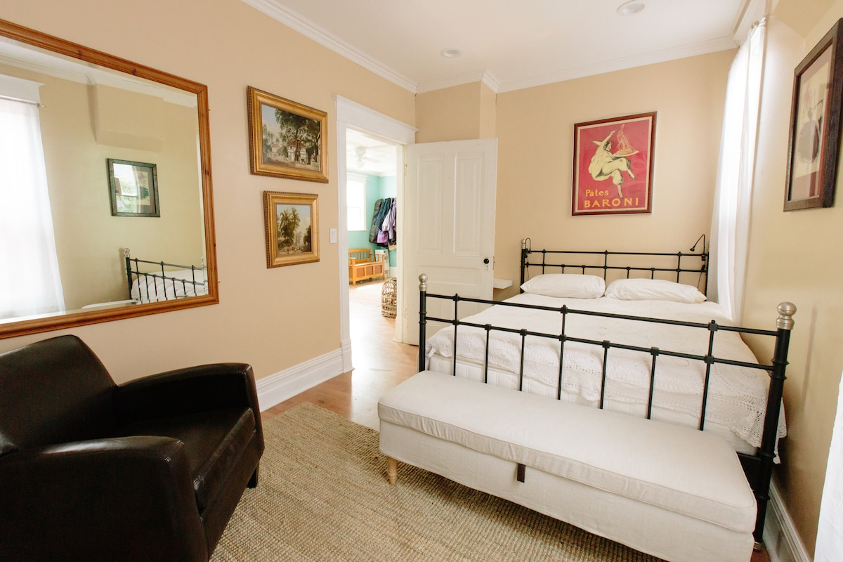 A beautiful, spacious double room