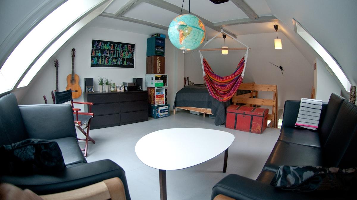 Unique apartment in two levels!