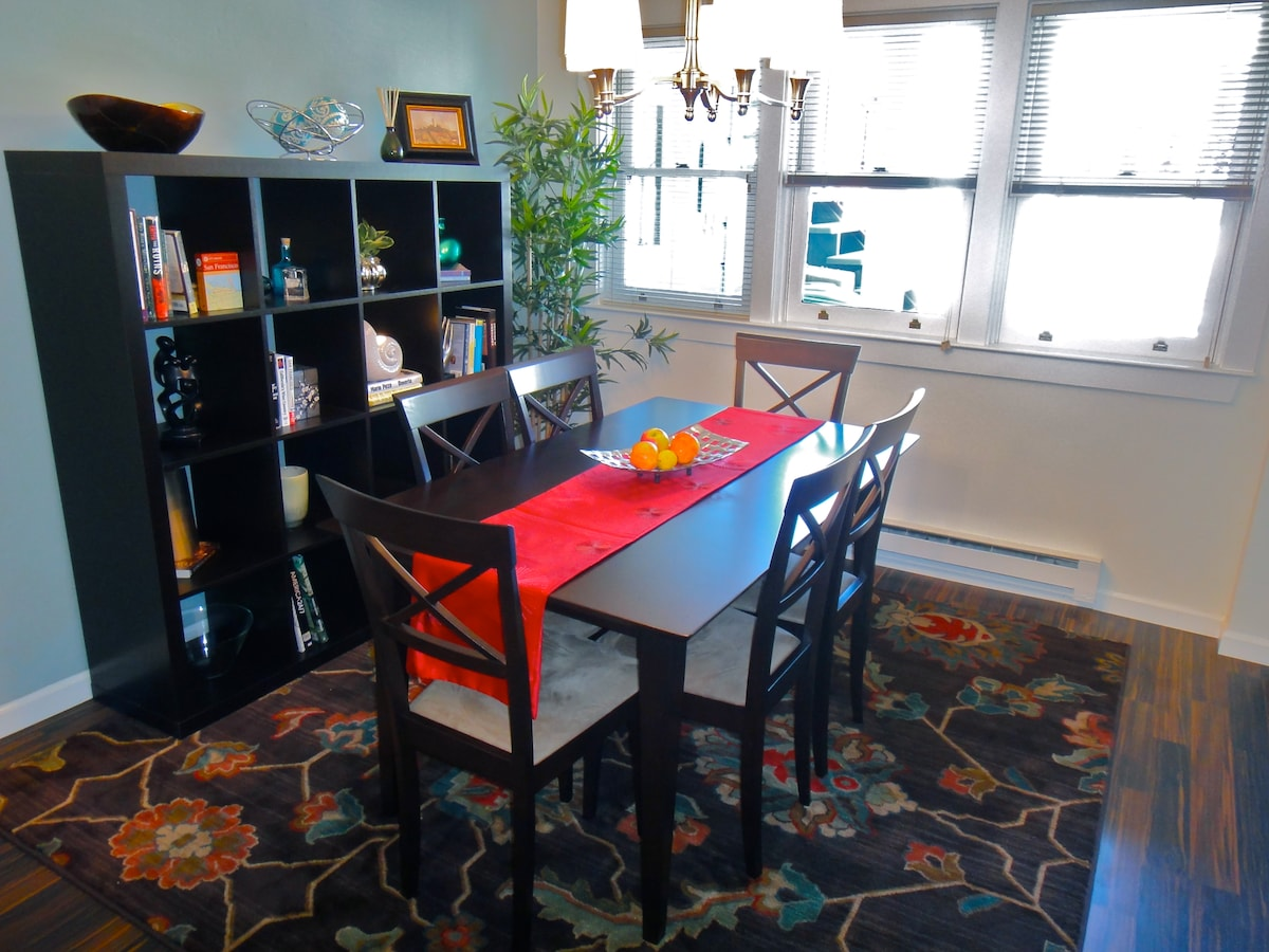 Dining area or work station