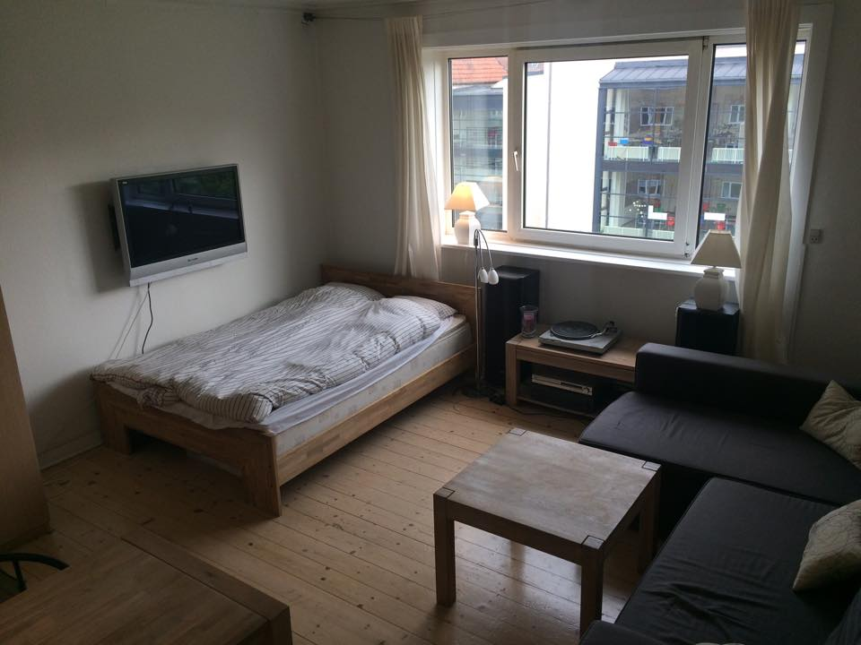2 værelses på Frederksberg