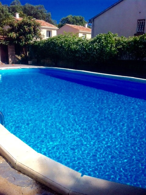 Bel appartement avec piscine privée