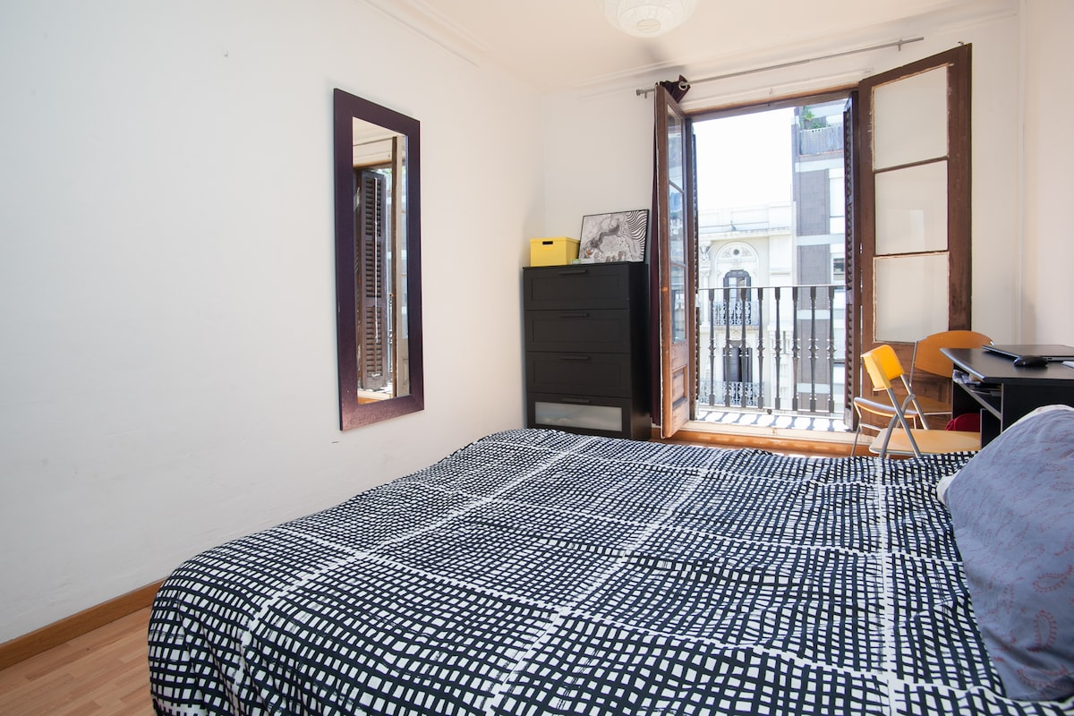 cosy room in the heart of Barcelona