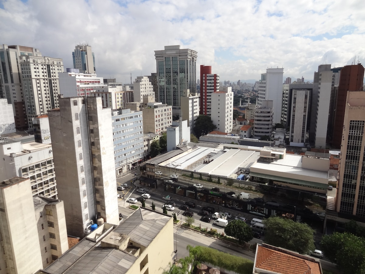 Studio in the heart of Paulista!