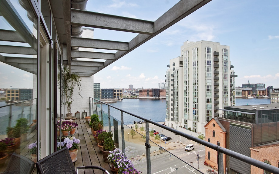Double Room overlooking CPH & Canal