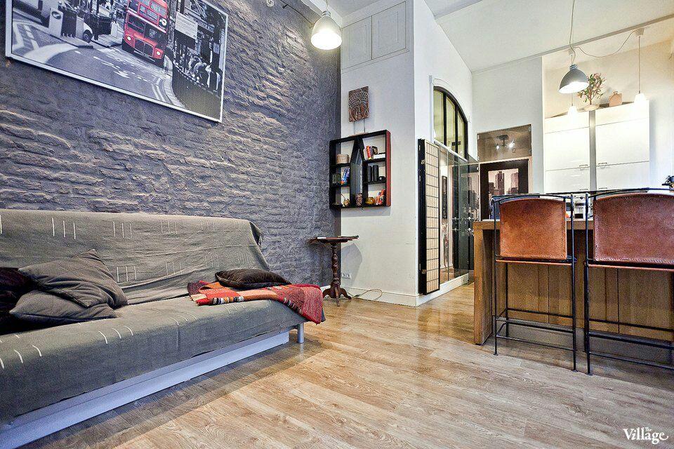 Loft apartment in city center 44sqm