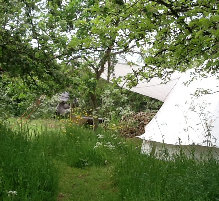 Bell tent for 2 in Yoxford, Suffolk
