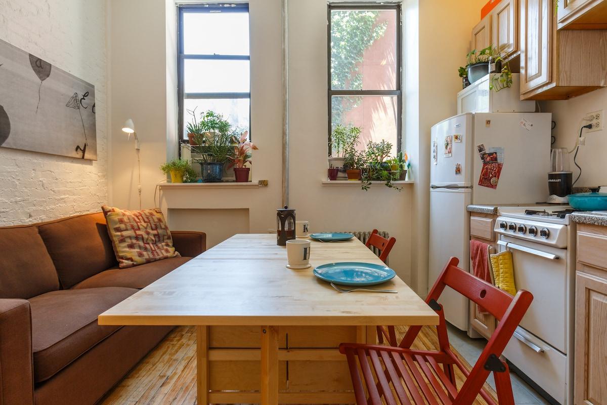 East Village Plant-Filled Studio