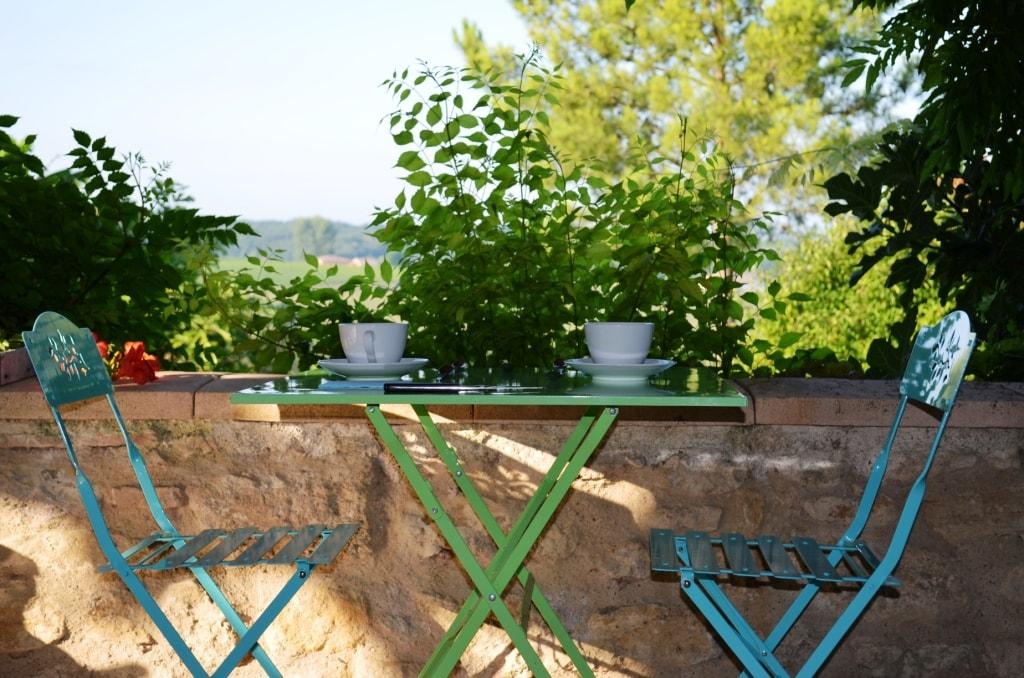 Terrasse Manoir de Gaboria , Gironde