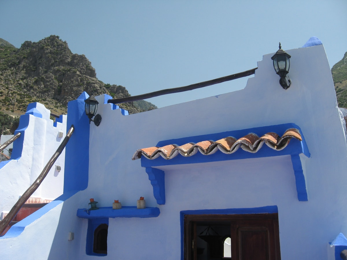 House in the Medina of Chefchaouen