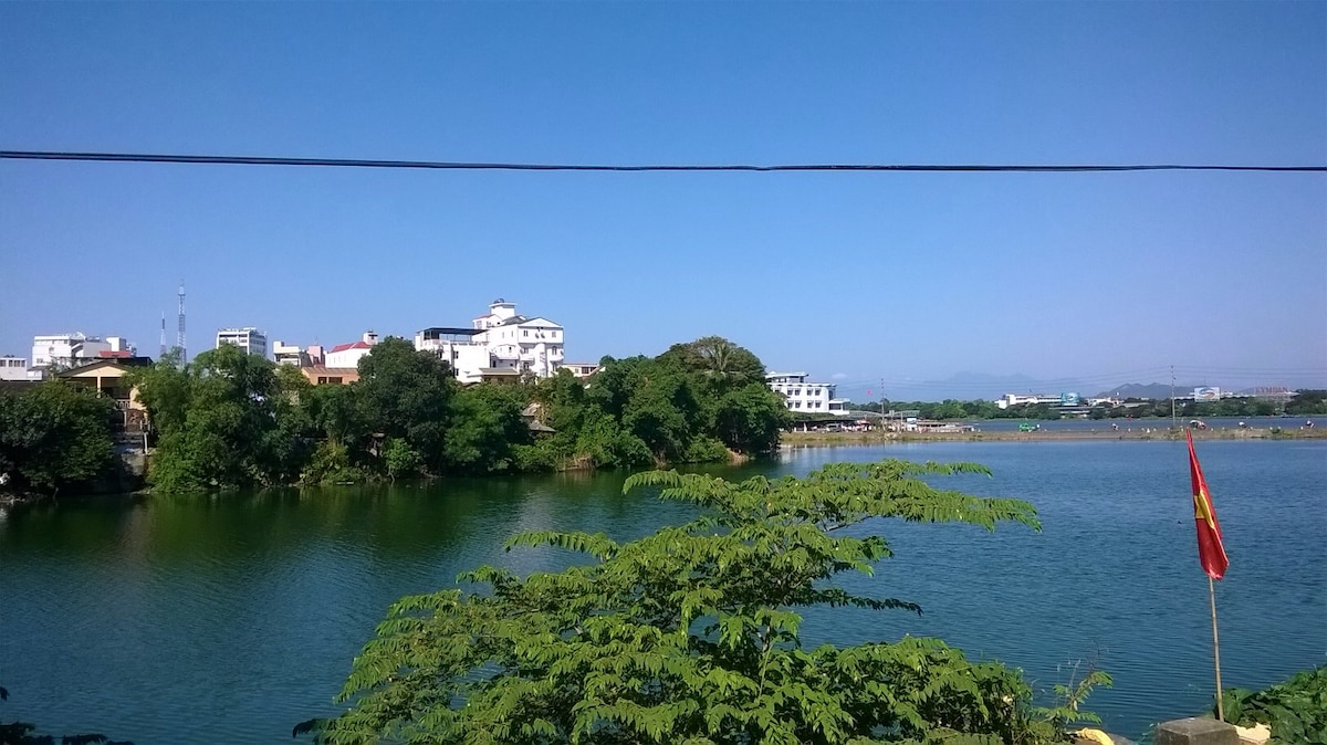 Homestay in a riverfront house